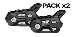 Intercomunicador para Motero Fox R5 Packs X2